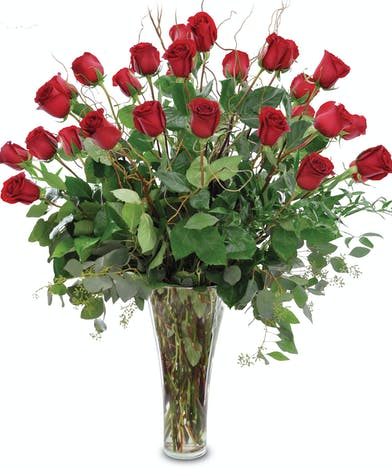 3 Dozen Roses - Egg Harbor Township Valentine's Day Flower Delivery - Same-day Delivery