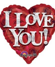 I Love You Mylar