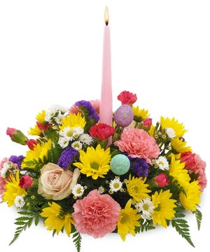 Easter Centerpiece Delivery New Jersey - Same-day Delivery - Fischer Flowers