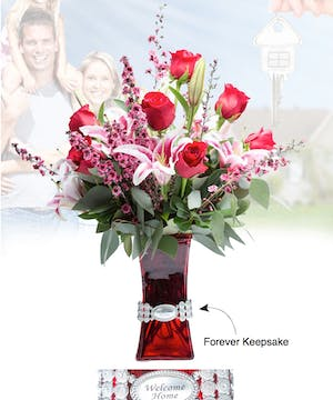 Vase of Life - Welcome Home - Floral Bouquet - Fischer Flowers