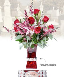 Vase of Life - Loving Memory - Floral Bouquet - Fischer Flowers