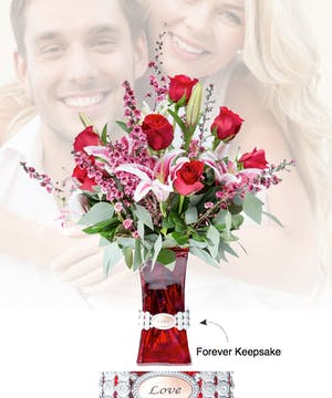 Vase of Life - Love - Floral Bouquet - Fischer Flowers