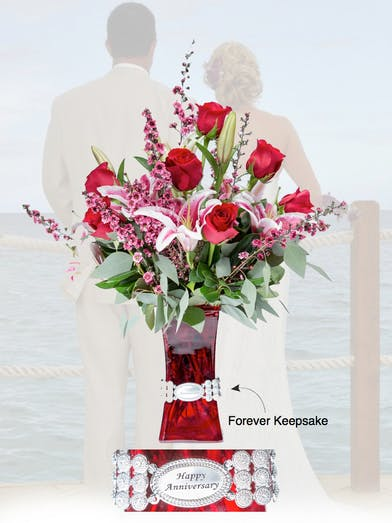 Vase of Life - Happy Anniversary - Floral Bouquet - Fischer Flowers