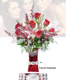 Vase of Life - Happy Birthday - Floral Bouquet - Fischer Flowers
