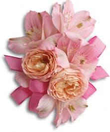 Dreamy Pink Wristlet