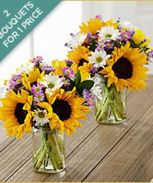 Sunflower Fields Bouquets