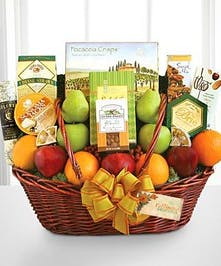 California Style Fruit & Gourmet Basket