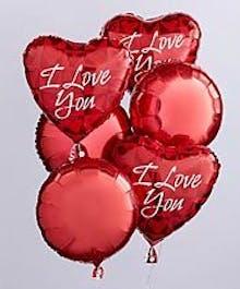 I Love You Balloon Bunch