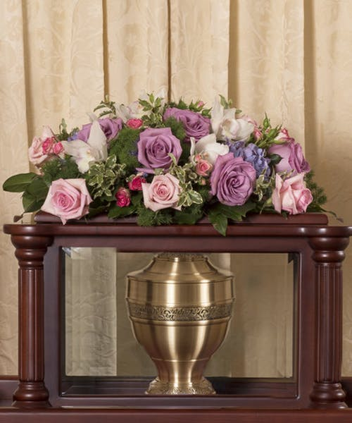 Pastel Urn Cover