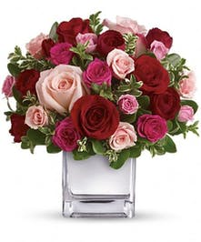 Pink Roses New Jersey - Same-day Delivery Nationwide - Fischer Flowers