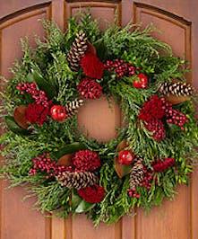 Yuletide Greetings Wreath