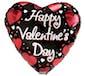 (1) Valentine Mylar