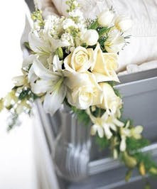 Elegant Casket Decoration