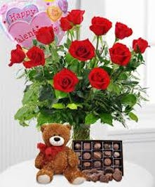Romantic Valentine's Day Flowers Egg Harbor Township - Same-day Delivery - Fischer Flowers