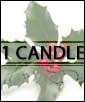 Santa's Helper - 1 candle