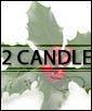 Santa's Helper - 2 candle