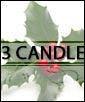 Santa's Helper - 3 candle